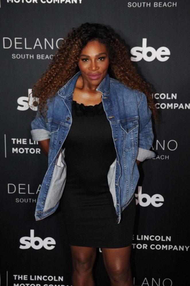 Serena Williams - Lincoln Motor Company x sbe Partnership Launch Event in Miami