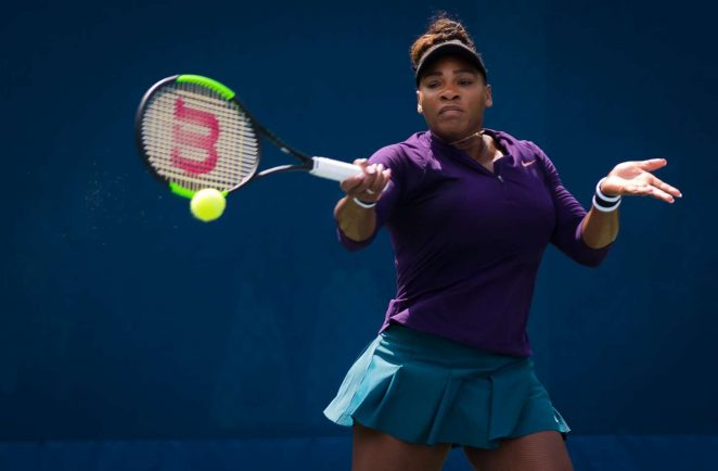 Serena Williams - Practice Session at 2018 US Open in New York