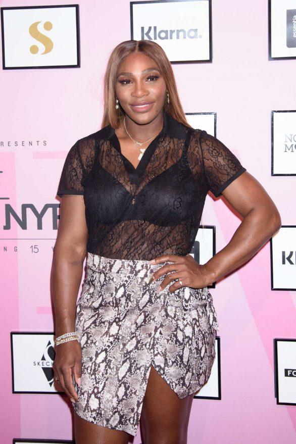 Serena Williams - S by Serena Fashion Show in New York City