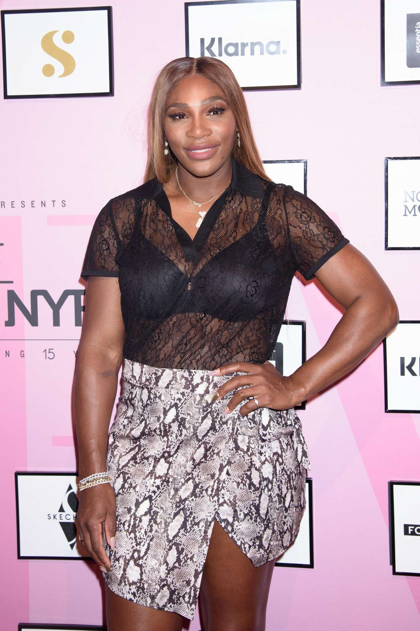 Serena Williams - S by Serena Fashion Show in New York City