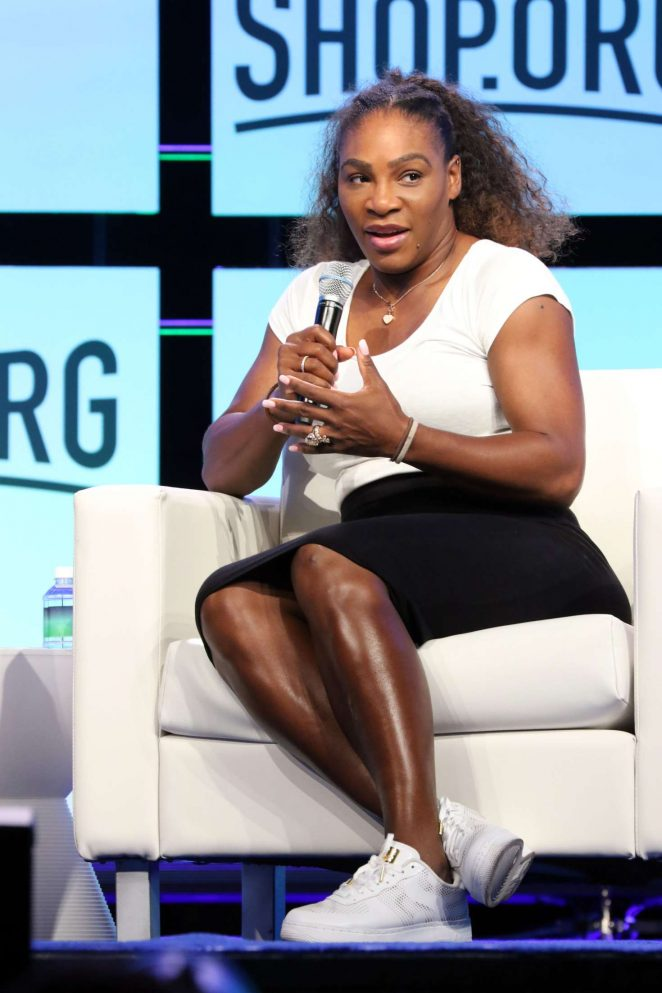Serena Williams - Shop.org Digital Retail Conference in Las Vegas