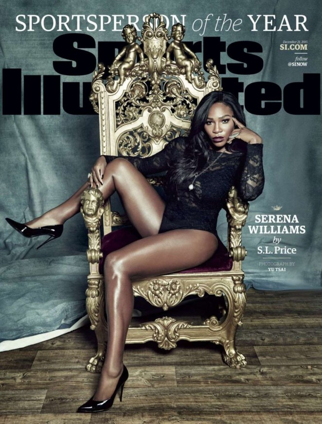 Serena Williams - Sports Illustrated Cover (December 2015)