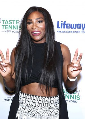 Serena Williams - Taste Of Tennis Event in NYC