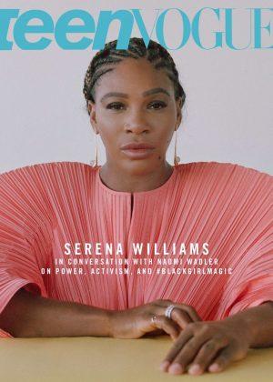Serena Williams - Teen Vogue Magazine (December 2018)