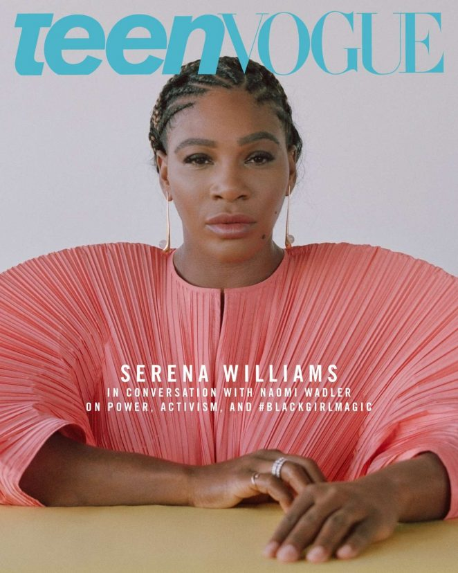 Serena Williams – Teen Vogue Magazine (December 2018)