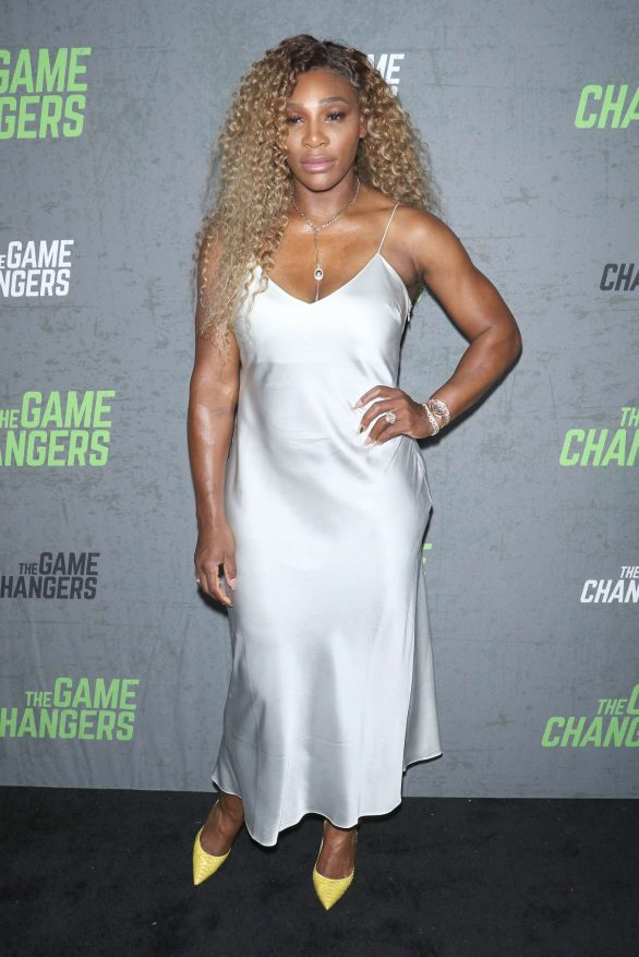 Serena Williams - The Game Changers Premiere in NYC