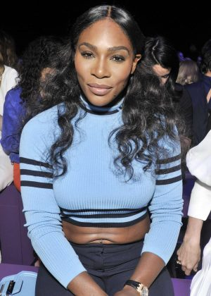Serena Williams - Versace Show SS 2017 at Milan Fashion Week in Italy
