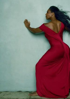 Serena Williams - Vogue US Magazine (April 2015)