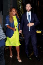 Serena Williams with Alexis Ohanian - Out in New York