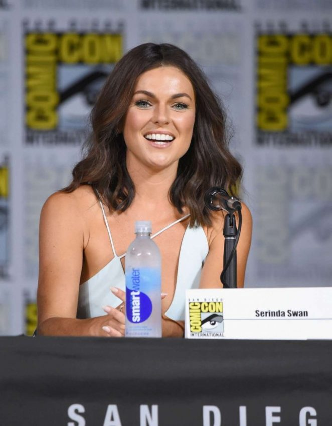 Serinda Swan - 2017 Inhumans Panel At Comic-con In San Diego