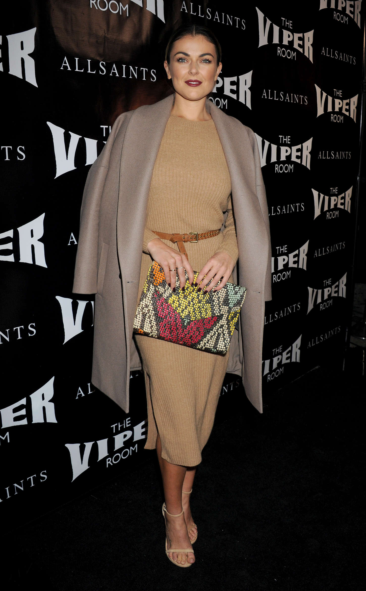 Serinda Swan - The Official Viper Room Re-Launch Party in West Hollywood