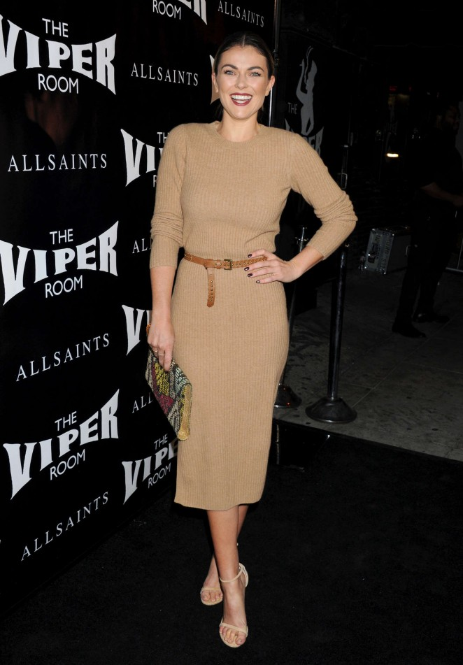Serinda Swan: The Official Viper Room Re-Launch Party -09