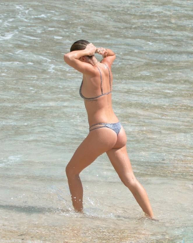 Back to post serinda swan wearing a bikini at a beach in st barts