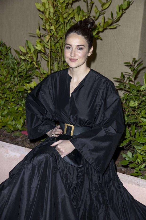 Shailene Woobeldley - Dior And Vogue Paris Dinner in Cannes
