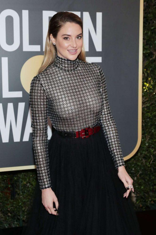 Shailene Woodley: 2018 Golden Globe Awards -07 - GotCeleb