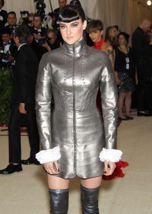 Shailene Woodley - 2018 MET Gala in NYC