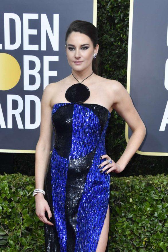 Shailene Woodley - 2020 Golden Globe Awards in Beverly Hills