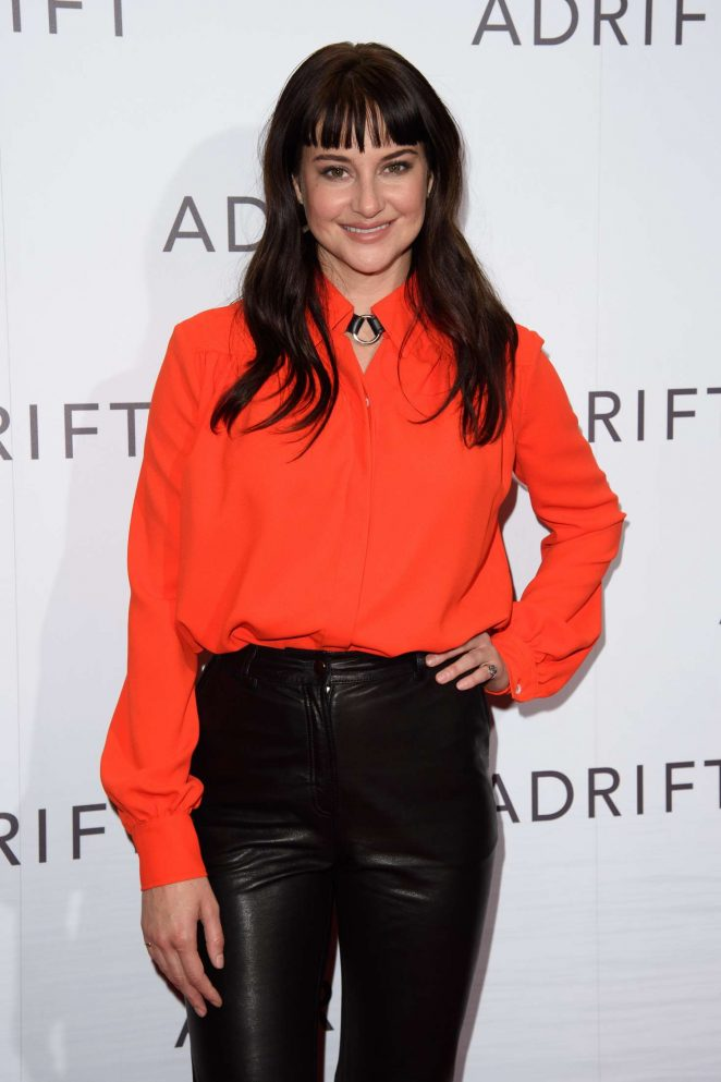 Shailene Woodley - 'Adrift' Special Screening in London