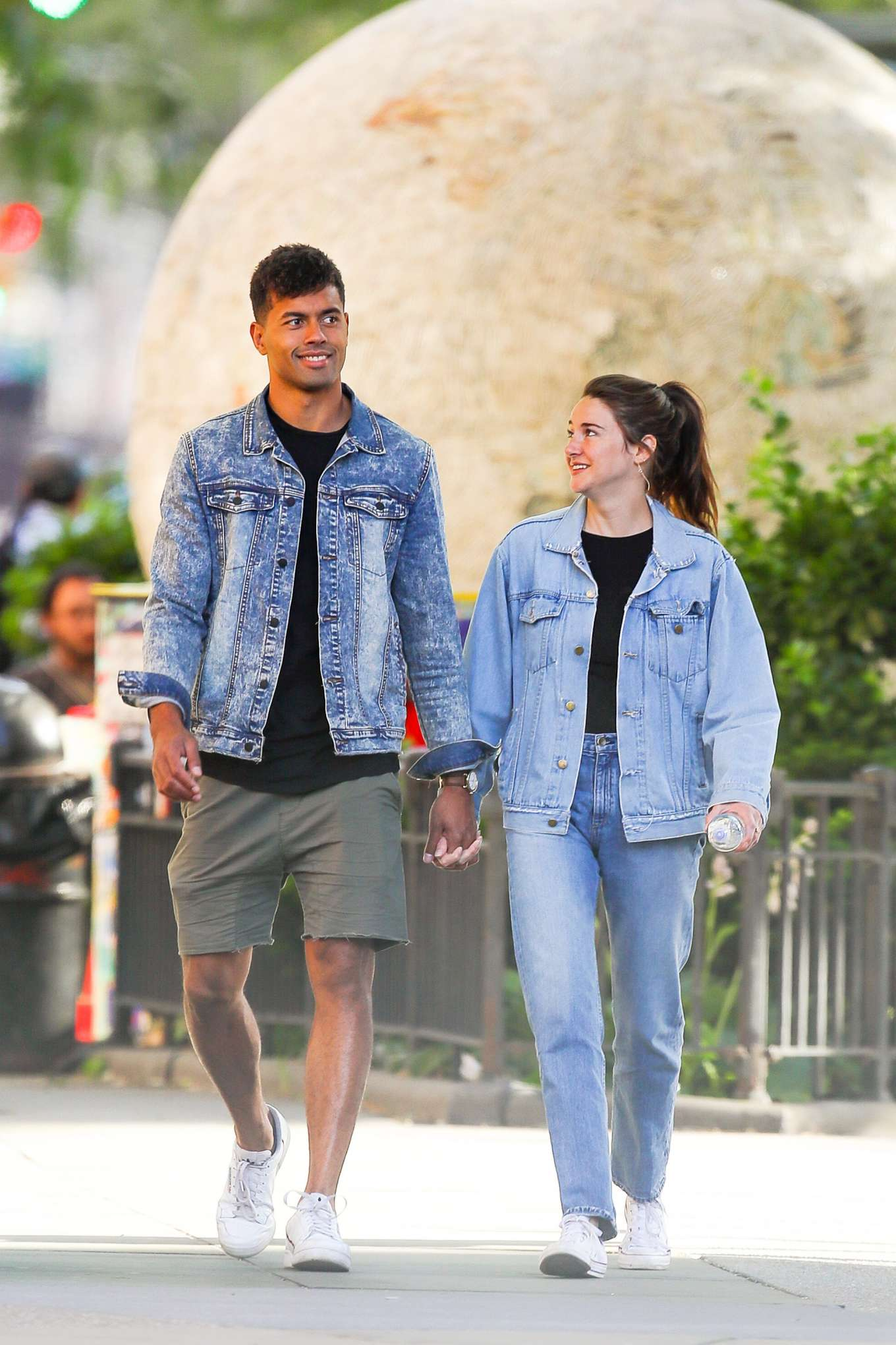 Shailene Woodley and boyfriend Ben Volavola: Out in NYC-06 ...