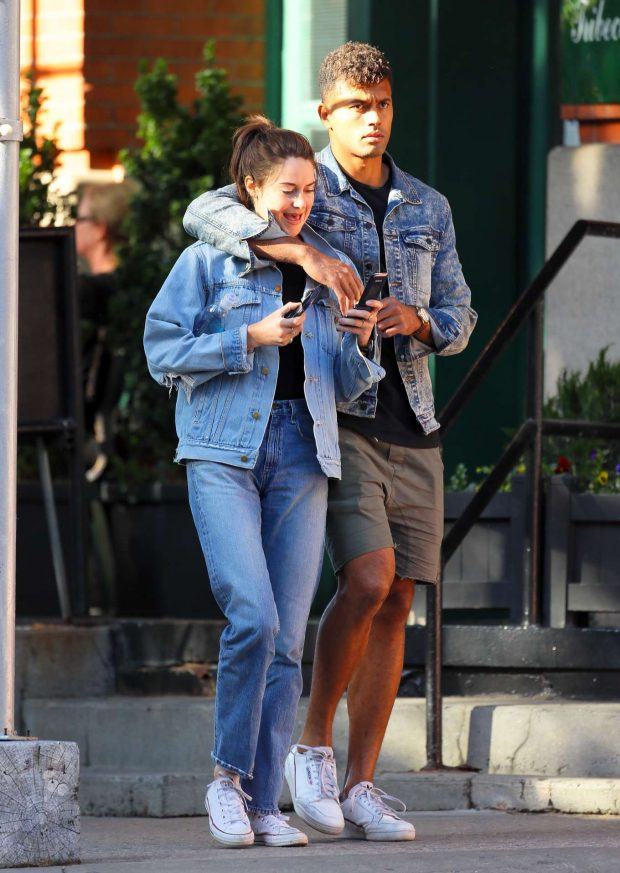 Shailene Woodley and boyfriend Ben Volavola: Out in NYC-09
