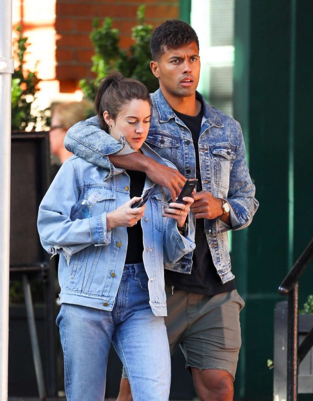 Shailene Woodley and boyfriend Ben Volavola - Out in NYC
