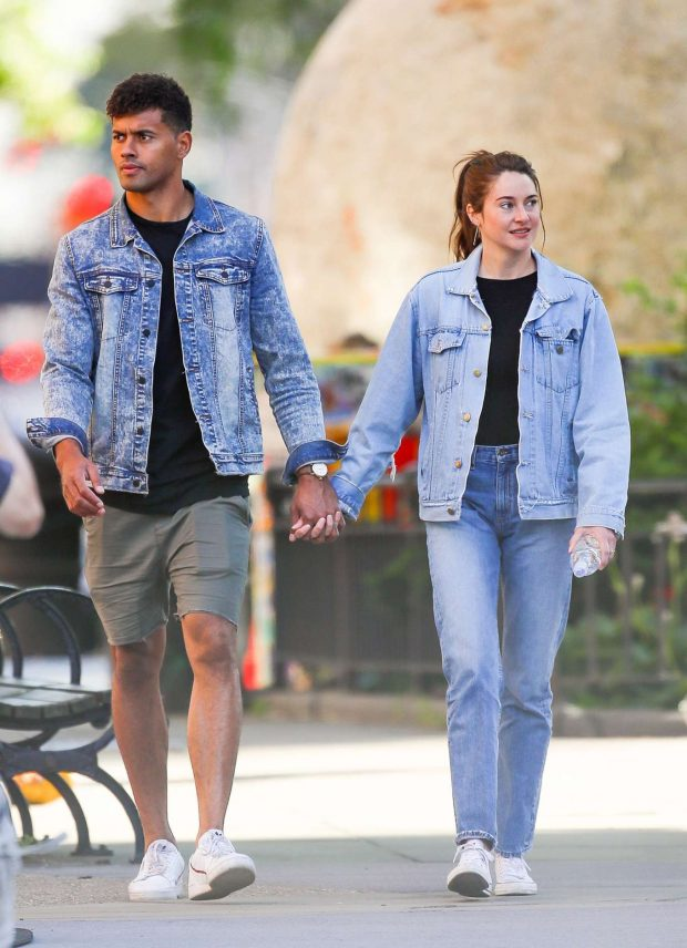 Shailene Woodley and boyfriend Ben Volavola: Out in NYC-22 ...