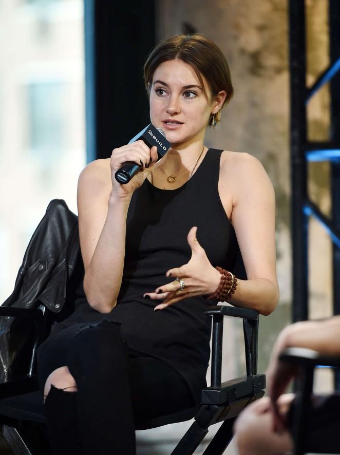 Shailene Woodley - AOL's BUILD Speaker Series in NYC