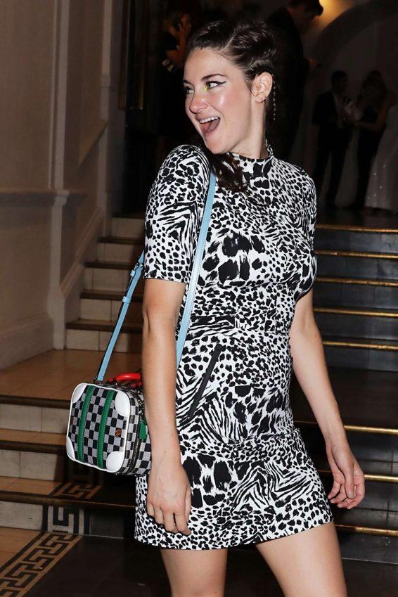 Shailene Woodley - Arrives at Vogue Party in Paris