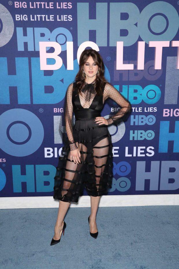 Shailene Woodley - 'Big Little Lies' Season 2 Premiere in NYC