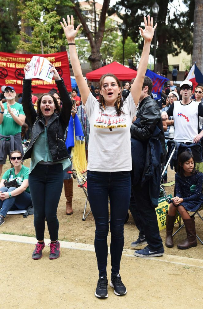 Shailene Woodley: Climate Revolution Rally -01