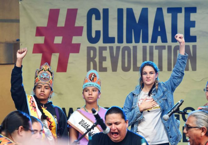 Shailene Woodley: Climate Revolution Rally -07