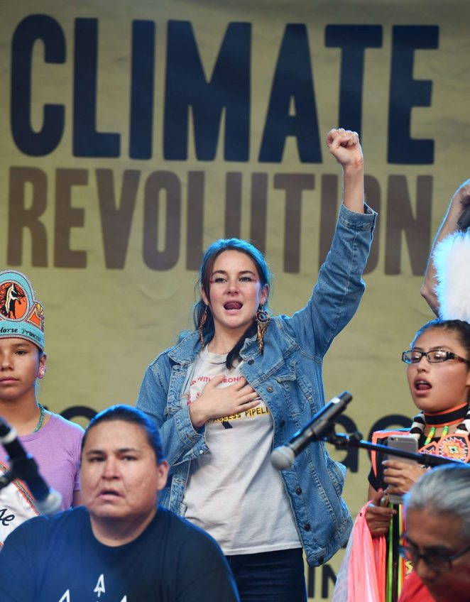 Shailene Woodley: Climate Revolution Rally -15