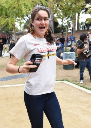 Shailene Woodley - Climate Revolution Rally in Los Angeles
