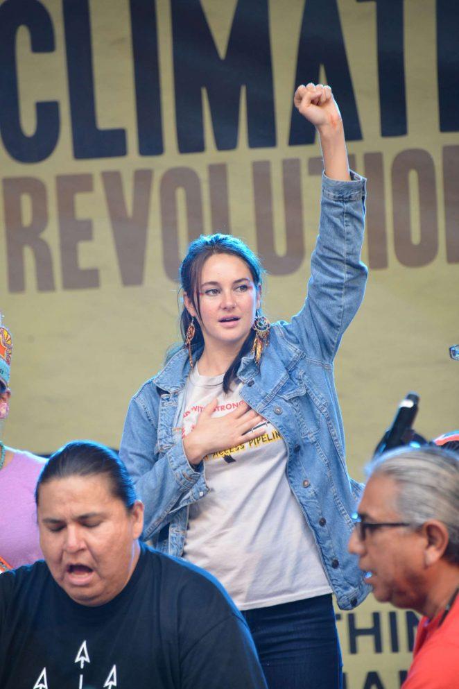 Shailene Woodley: Climate Revolution Rally -53