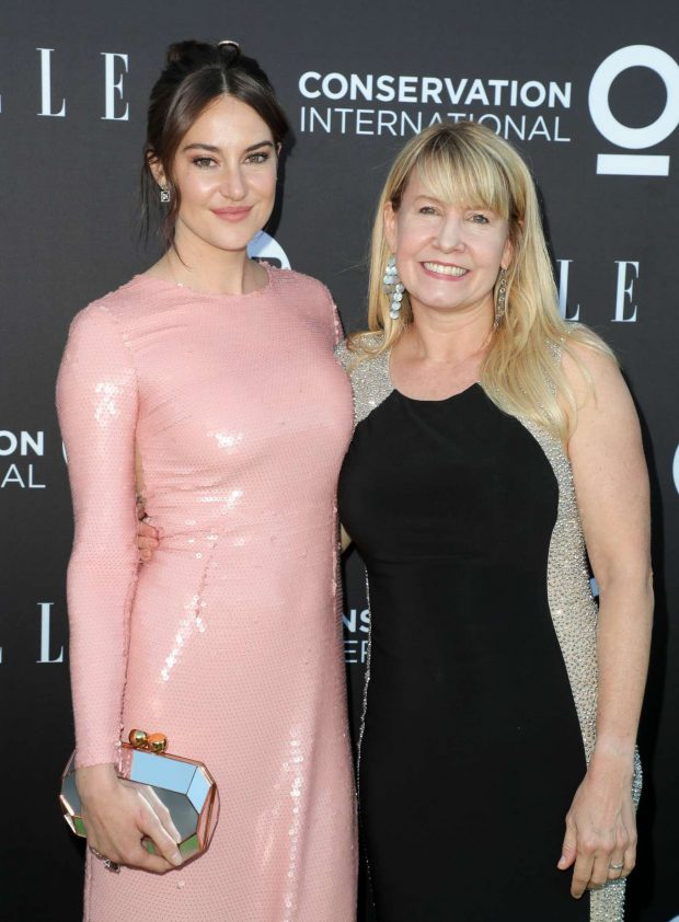 Shailene Woodley - Conservation International - ELLE Los Angeles Gala