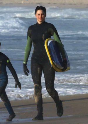 Shailene Woodley - Filming 'Big Little Lies' in Monterey