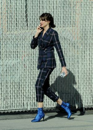 Shailene Woodley - Filming Drake Doremu's drama in Los Angeles