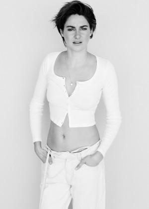Shailene Woodley - Glamour UK Magazine (April 2015)