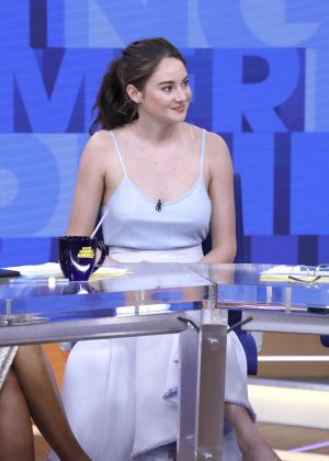 Shailene Woodley - 'Good Morning America' in New York