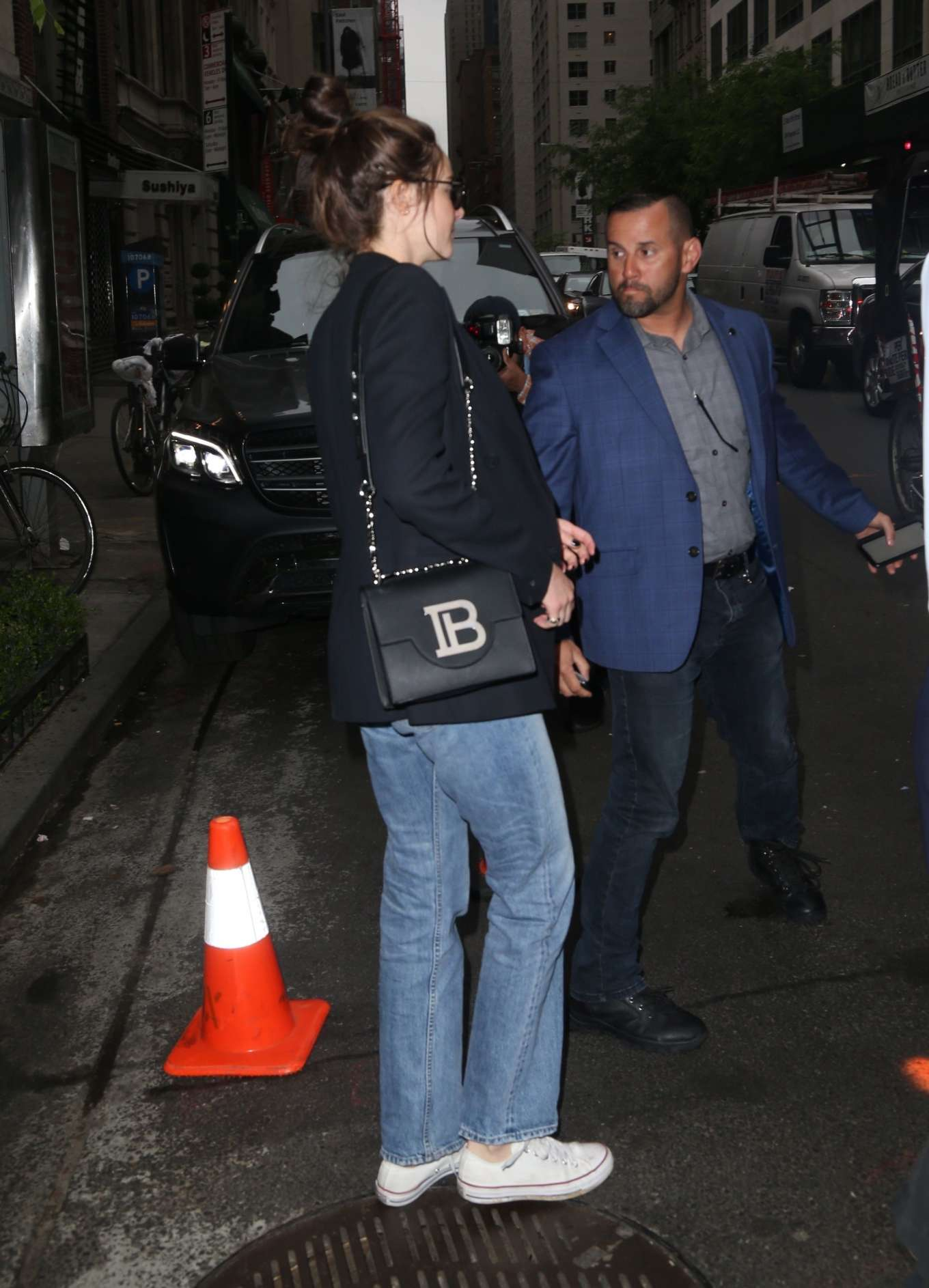 Shailene Woodley 2019 : Shailene Woodley in a Blue Blazer and Jeans-13
