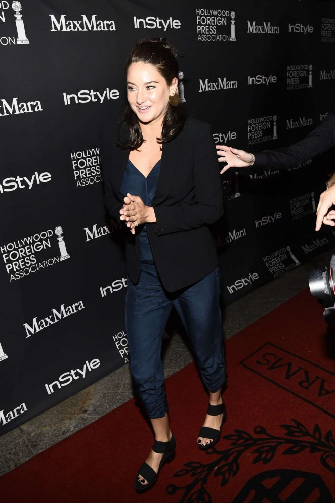 Shailene Woodley - Instyle Hollywood Foreign Press Association Party 2016 in Toronto