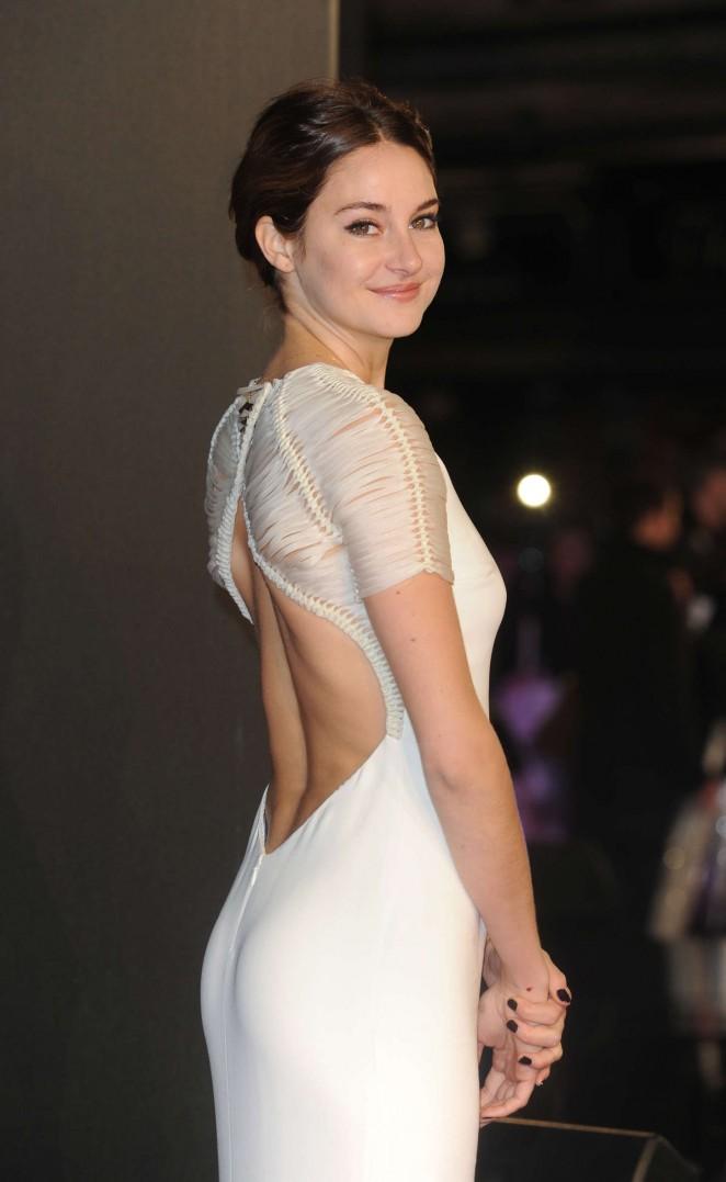 """Shailene Woodley - """"Insurgent"""" Premiere in London"""
