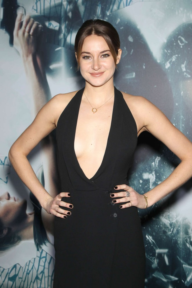 "Shailene Woodley - ""Insurgent"" Premiere in NYC"