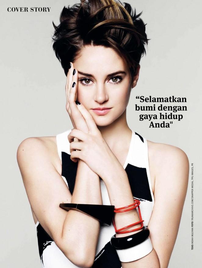 Shailene Woodley - Joy Indonesia Magazine (March 2015)