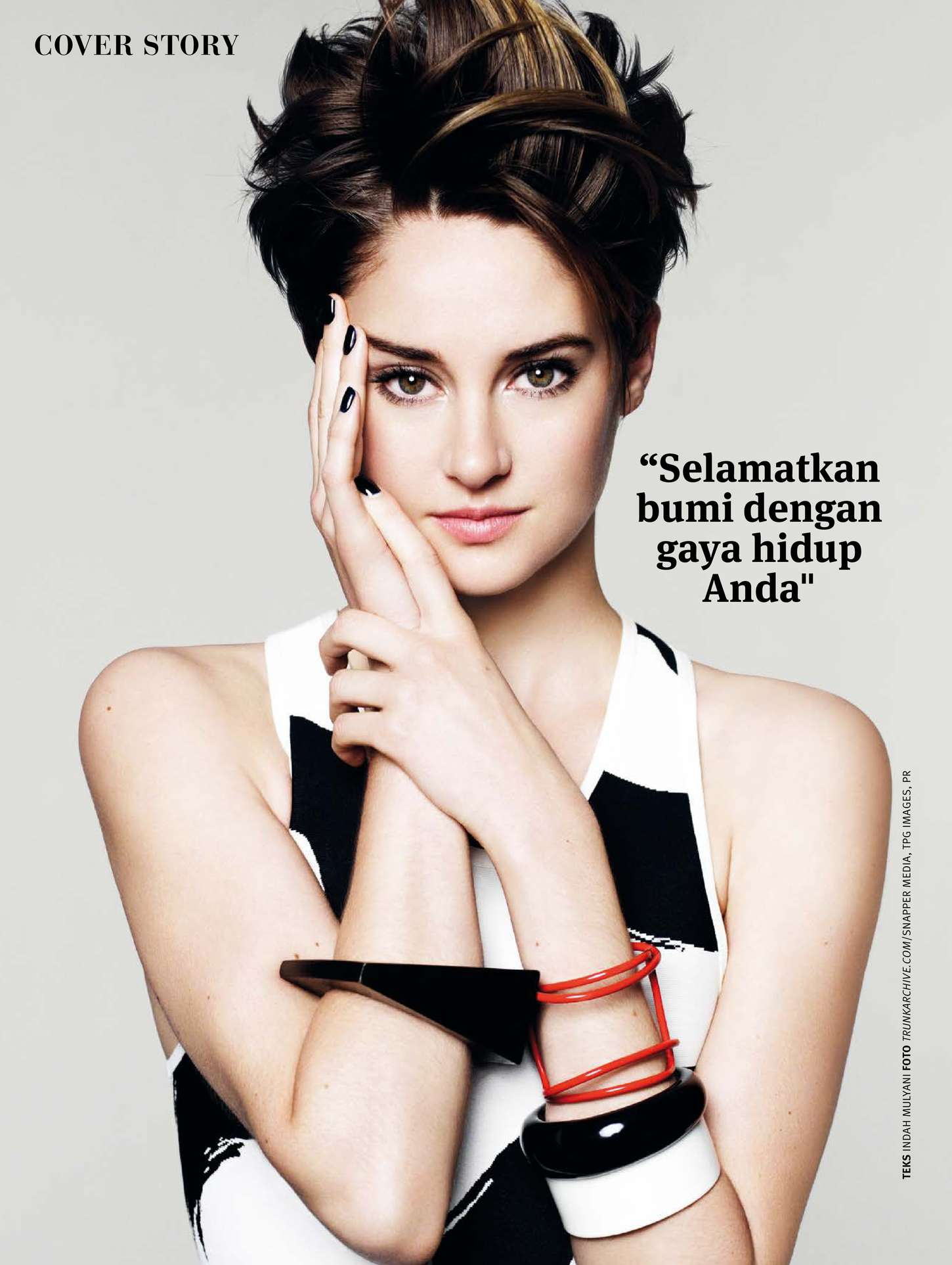 Shailene Woodley - Joy Indonesia Magazine (March 2015)