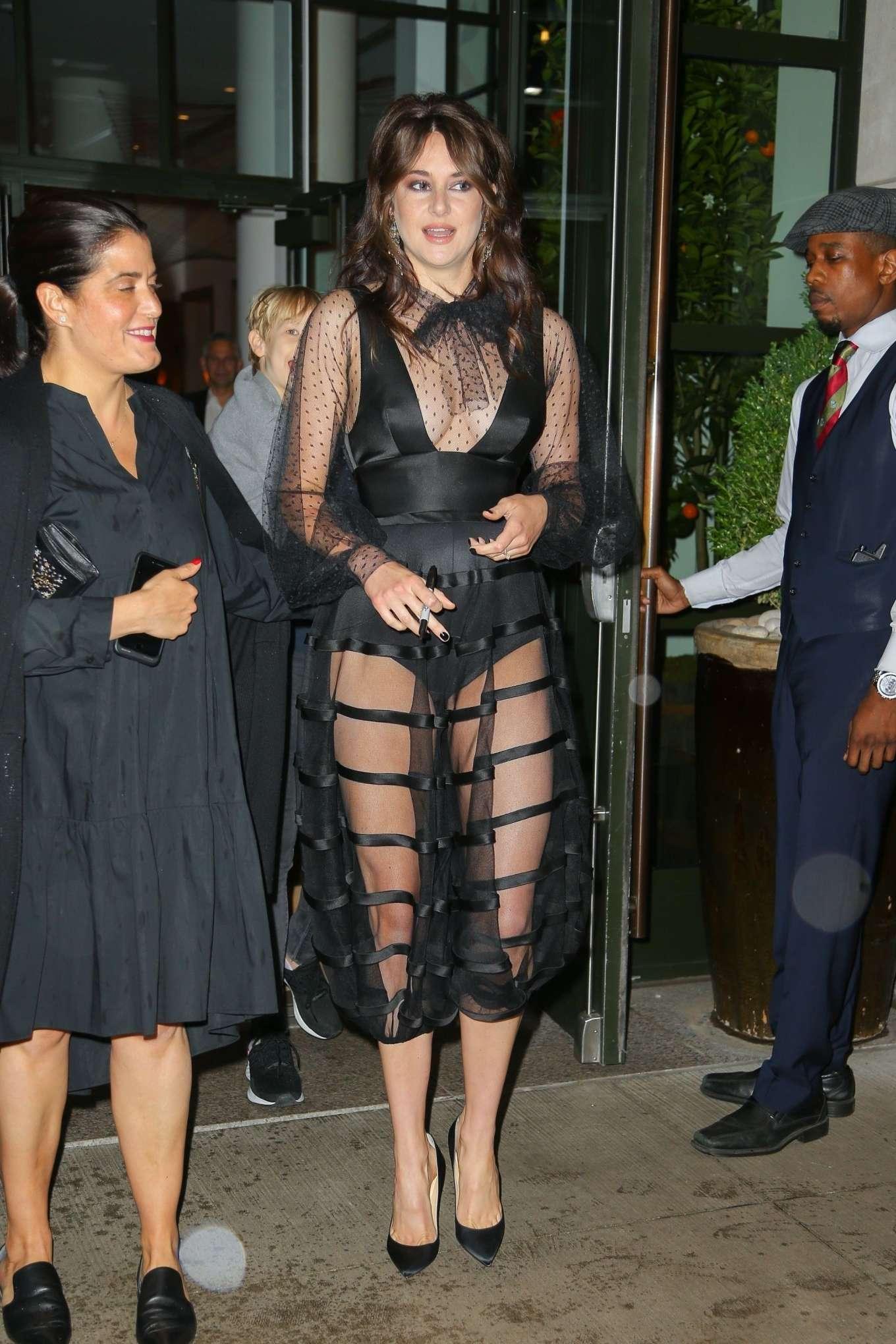 Shailene Woodley 2019 : Shailene Woodley: Leaves The Whitby Hotel-08