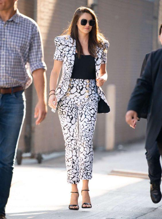 Shailene Woodley - Leaving Jimmy Kimmel Live! in Hollywood