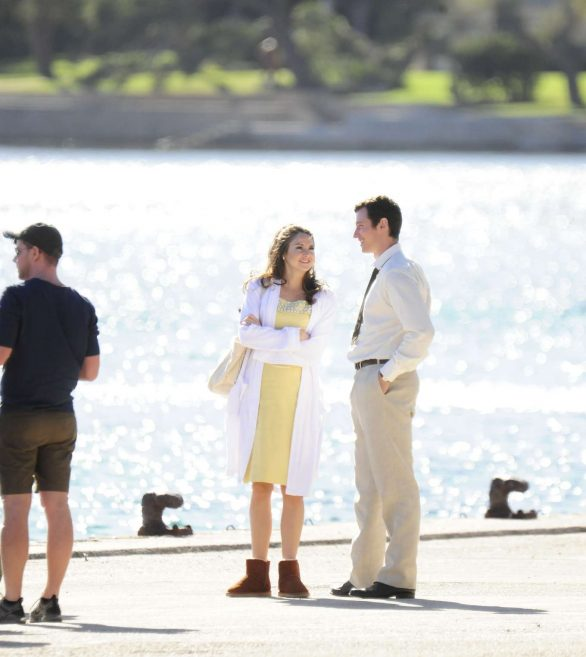 Shailene Woodley - On set of movie the 'Last Letter from your Lover' in Spain