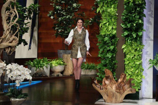 Shailene Woodley - On 'The Ellen DeGeneres Show' in LA