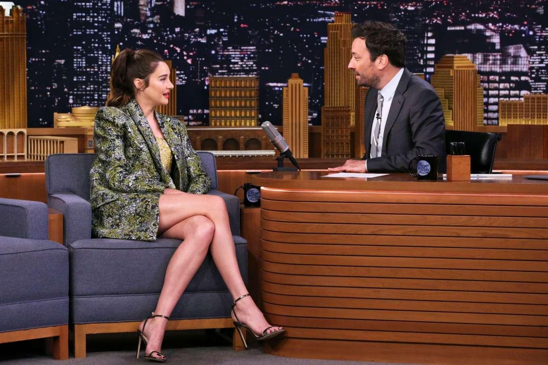 Shailene Woodley 2019 : Shailene Woodley: On The Tonight Show Starring Jimmy Fallon-01